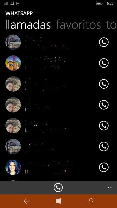 Whatsapp Beta se actualiza con cambios en la imagen de contactos