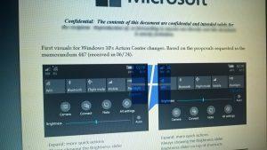 Microsoft aún podría hacer un rediseño del centro de acciones