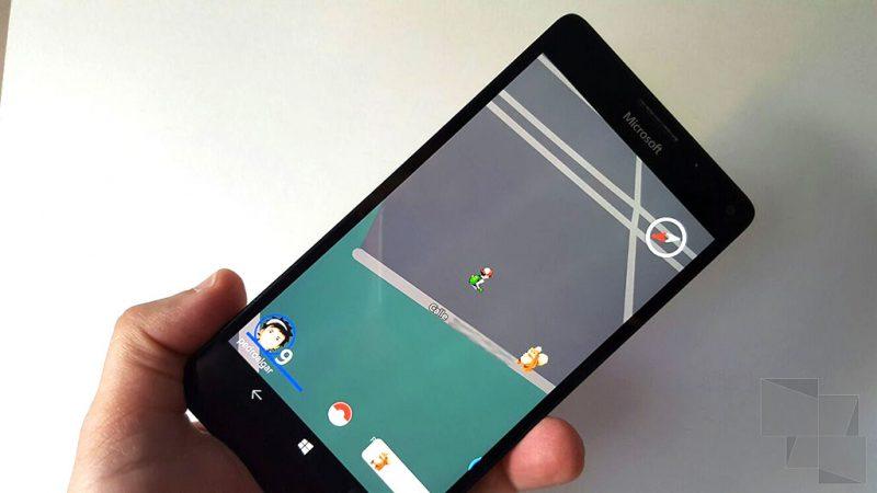 Pokemon Go Windows 10 Mobile