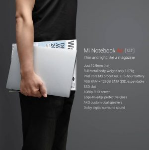 Xiaomi nos presenta sus nuevos Mi Notebook Air con Windows 10