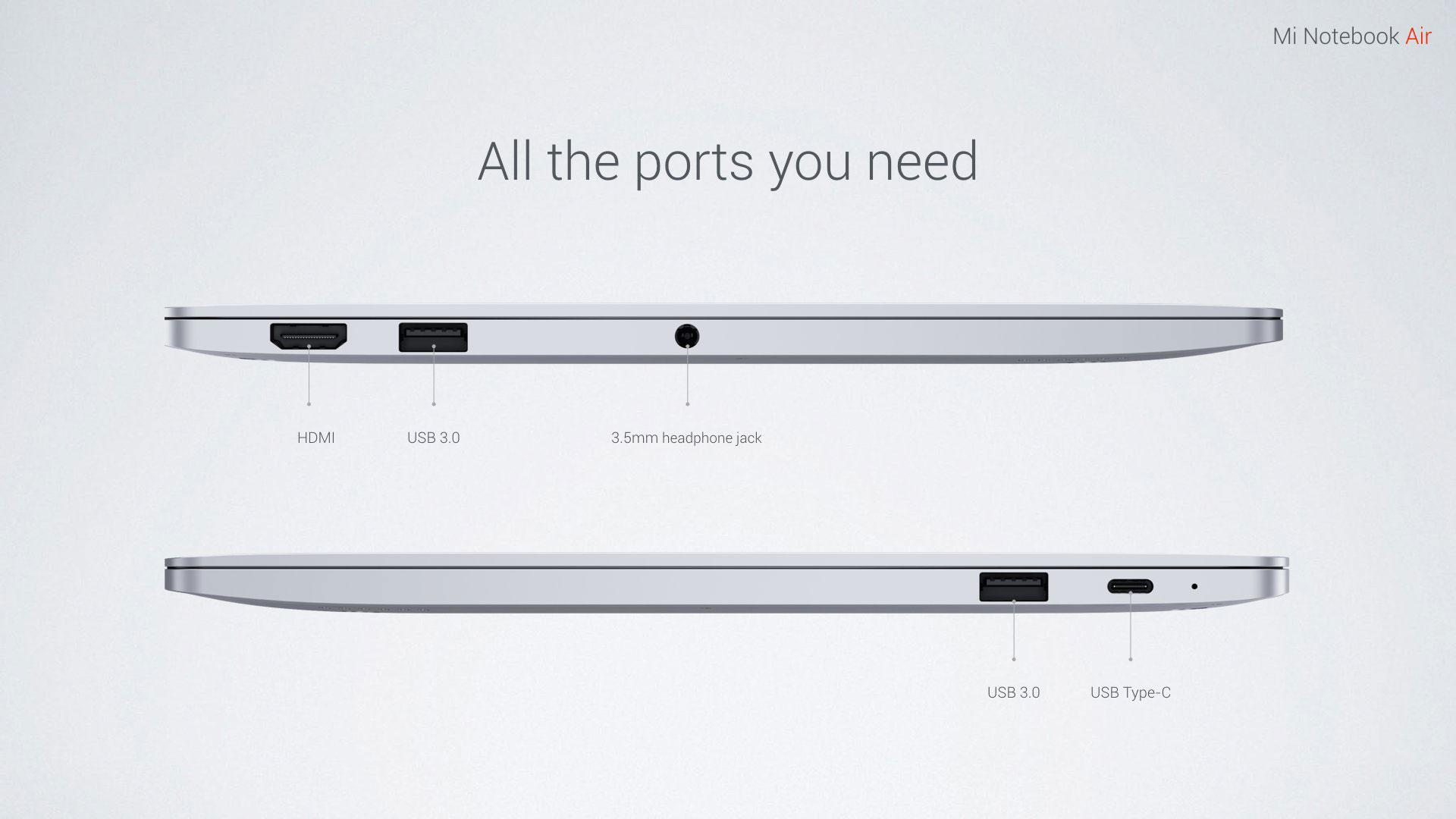 xiaomi-Mi-Notebook-Air-puertos