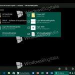 Imágenes del futuro Explorador de Archivos UWP de Windows 10 en PC