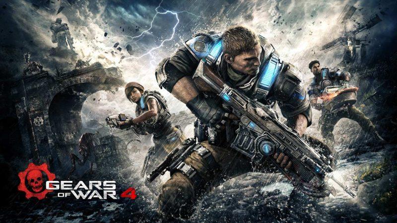 Gears of War 4 ya se muestra en la categoría de mejorados para Xbox One X