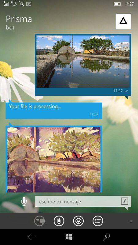 Prisma en Telegram con AIPrismaBot 1