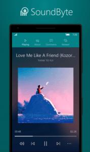 SoundByte, una fascinante aplicación para SoundCloud en tus dispositivos Windows 10