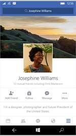 Facebook Inc lanza su aplicación oficial para Windows 10 Mobile