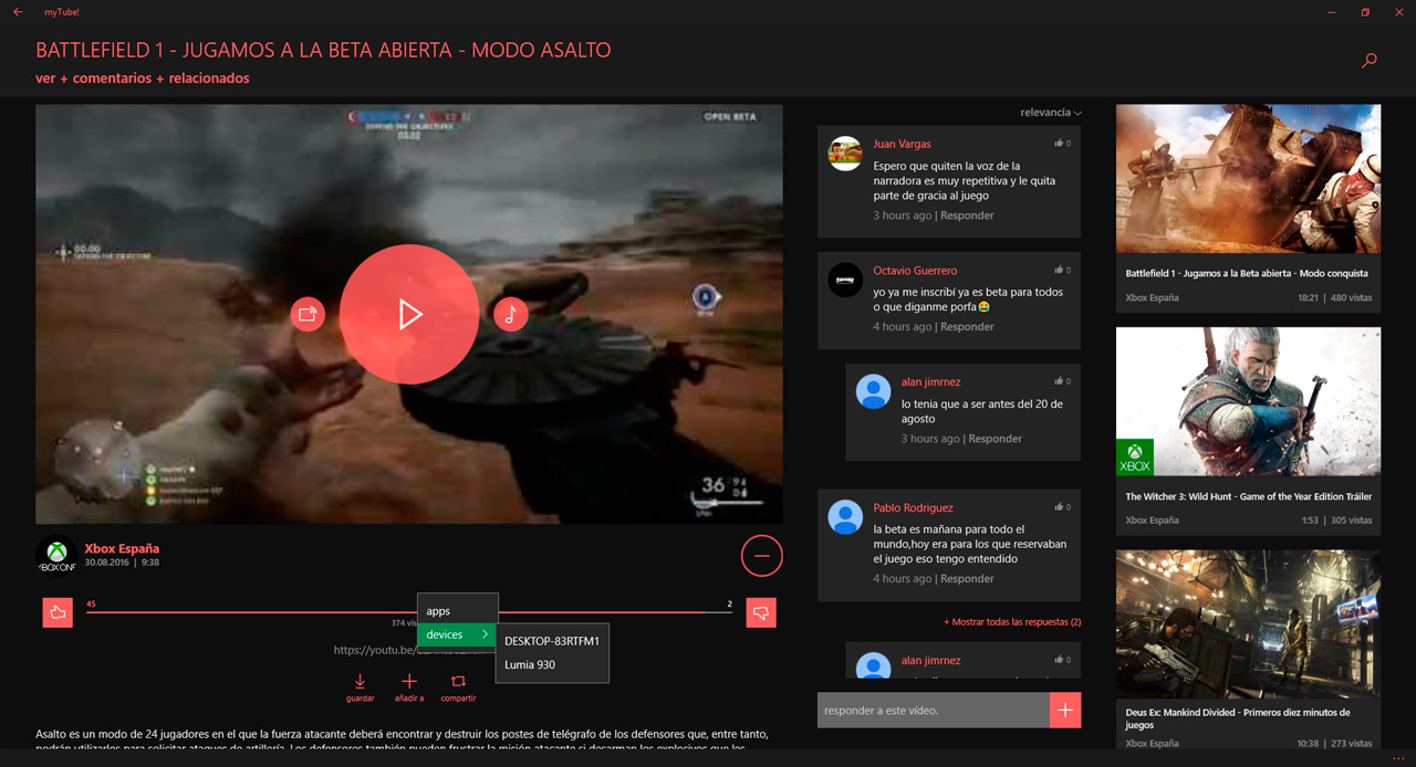 myTube-continuar-experiencias-de-aplicacion-Windows-10