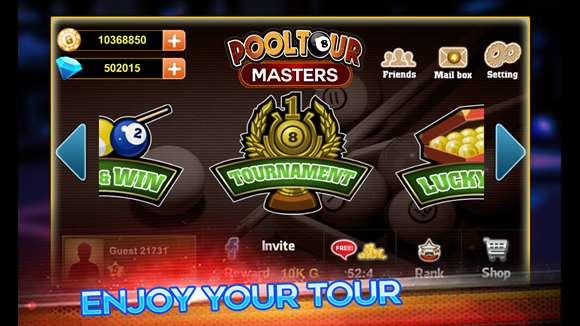 pool tour Masters 2