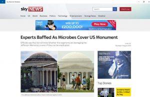 Sky News lanza su nueva aplicación para Windows 10