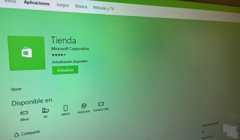 La tienda de Windows se actualiza con instalación remota de apps para Xbox One y más mejoras