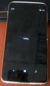 El Alcatel Idol 4 con Windows 10 parece mostrarse en nuevas imágenes