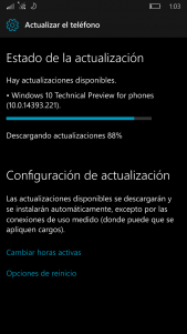 Disponible la Build 14393.221 de Windows 10 Mobile en el anillo Release Preview