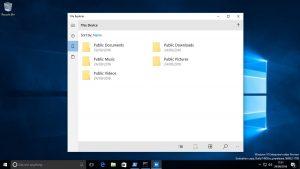 Aparecen nuevas referencias del Explorador de Archivos Universal para Windows 10 en la Build 14936