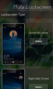 Coloca tu foto de perfil en la pantalla de bloqueo de tu móvil con Hola Lockscreen