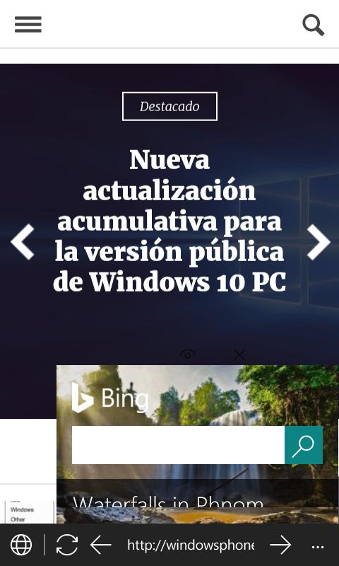 Monument Browser, uno de los mejores navegadores para Windows 10