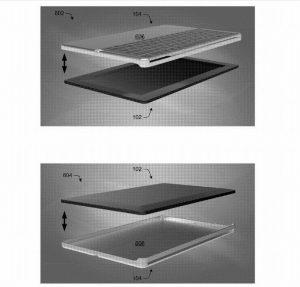 Microsoft patenta un nuevo teclado plegable para tabletas