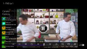 TV Online Univ ya disponible en la tienda Windows 10 para Xbox One