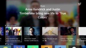 Twitter lanza su aplicación para la Xbox One