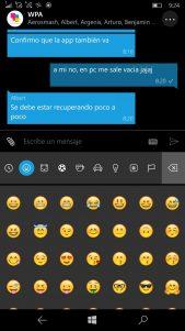 WhatsApp W10M Antes