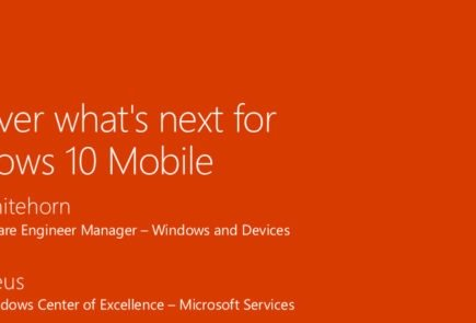Compromiso con Windows 10 Mobile