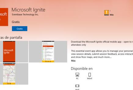 microsoft-ignite-app