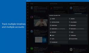 Tweeten, el nuevo cliente de Twitter gratuito para Windows 10 PC o Tablet se presenta de forma oficial