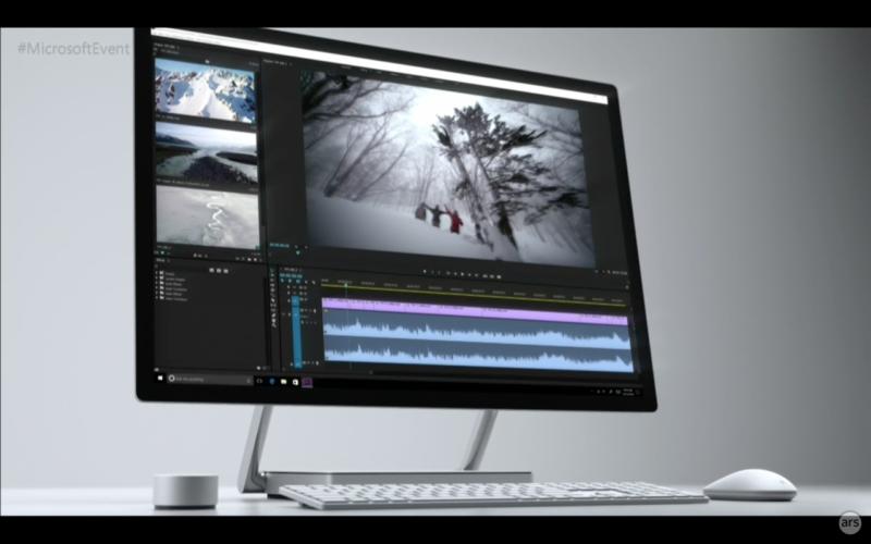 Microsoft Surface Studio, el nuevo producto All In One de la línea Surface