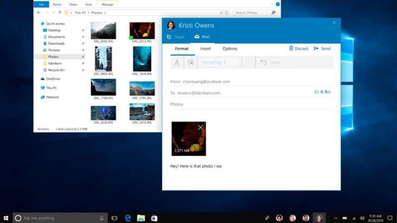 El actual SDK ya cuenta con todas las funciones de Windows 10 Creators Update