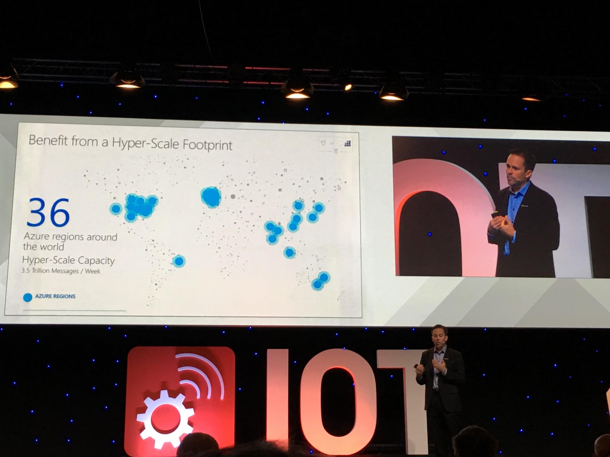 Microsoft presenta novedades en el IoT Solutions World Congress