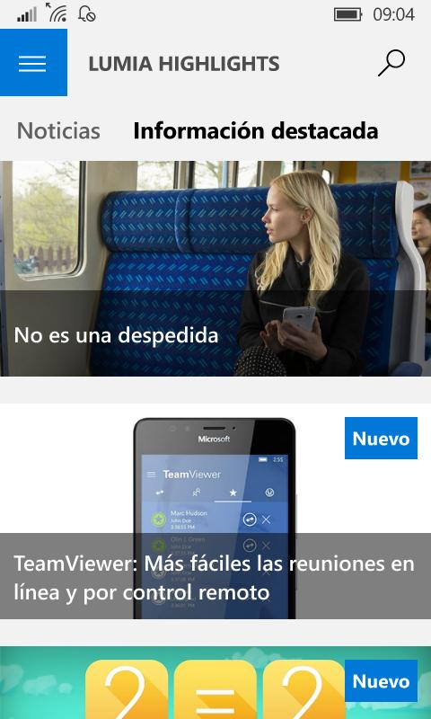 Microsoft descontinúa Lumia Highlights, la aplicación de consejos y novedades