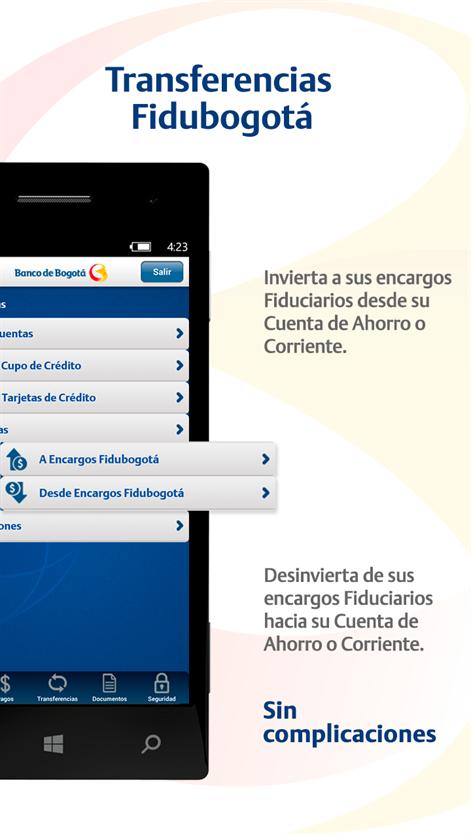 Banco de bogot lanza su aplicaci n banca m vil para for Banco de bogota