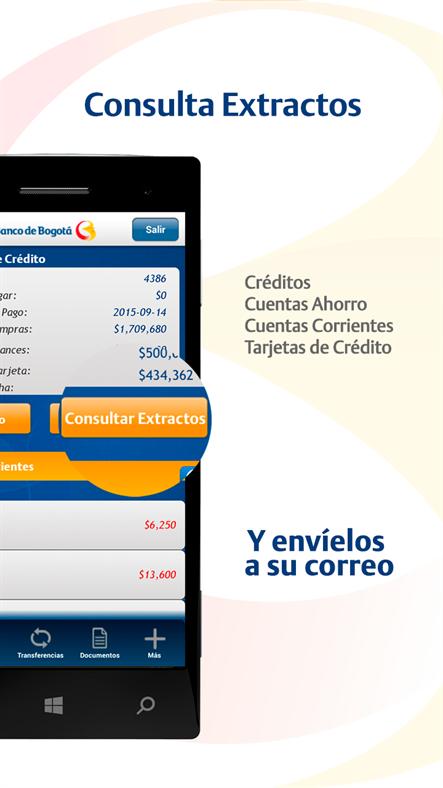 Banco de bogot lanza su aplicaci n banca m vil para for Cajeros link cercanos