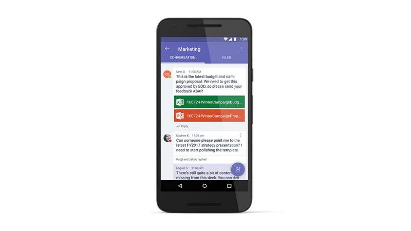 Microsoft Teams ahora admite emojis en Android