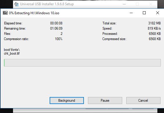 Graba imagenes de Windows en un USB facilmente con Universal USB Installer