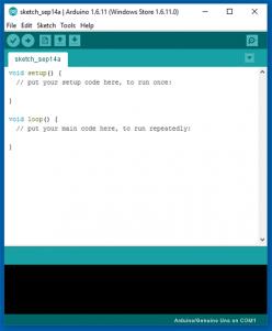 Arduino IDE ya se puede descargar desde la tienda de Windows 10