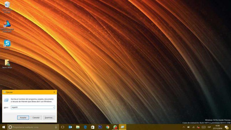 ¿Sabías como ... habilitar en Windows 10 la página de opciones para compartir?