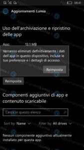 """La función de """"restablecer aplicaciones"""" podría llegar pronto a Windows 10 Mobile"""