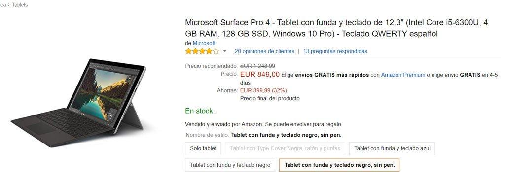 surface-pro-4-oferta