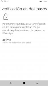 Whatsapp Beta recibe una nueva actualización con información de almacenamiento y verificación en dos pasos