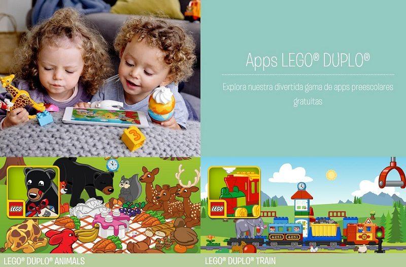 LEGO DUPLO Animals y DUPLO Train disponibles para Windows 10 móvil