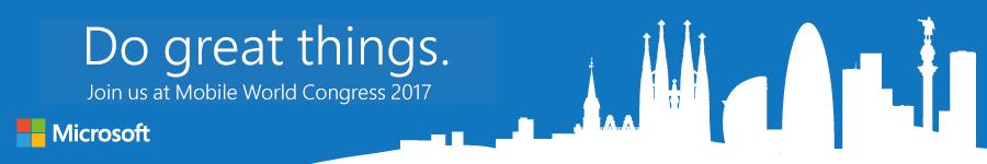 Microsoft comienza a preparar su presencia en el MWC 2017