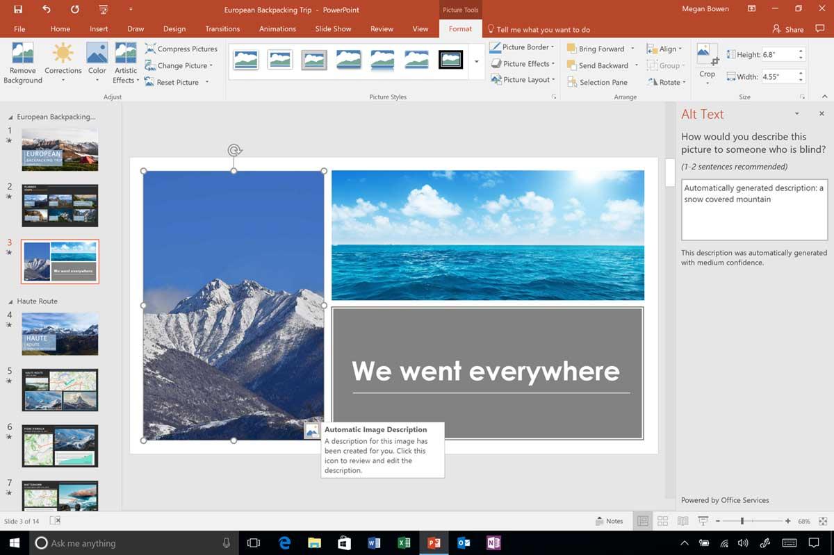 Microsoft describe las mejoras de accesibilidad para Office en la Actualización de Diciembre