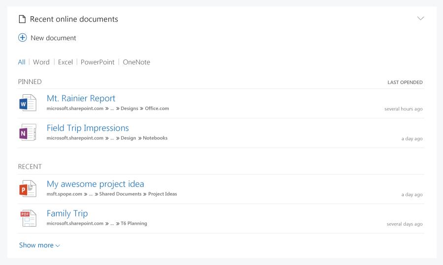 Office.com comienza a recibir su primera gran actualización