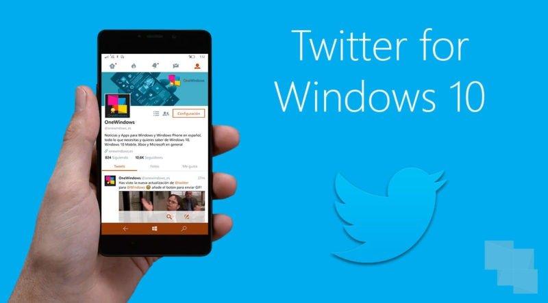 Cambios en las APIs de Twitter podrían dejar sin aplicación oficial a Windows 10 Mobile este año