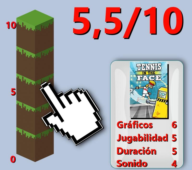 Review & GamePlay: Juego, Set y Tennis in the Face