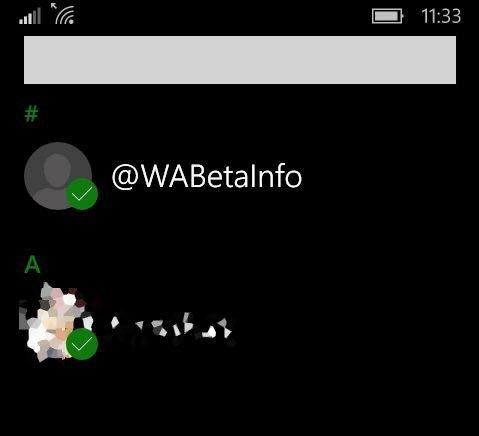 Más novedades en nueva actualización de WhatsApp Beta para Windows en móviles