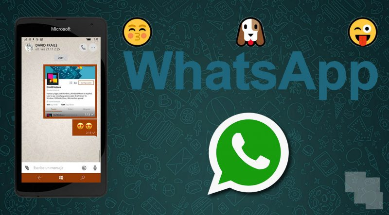 WhatsApp para Windows contará con buscador de GIF en Tenor y Giphy