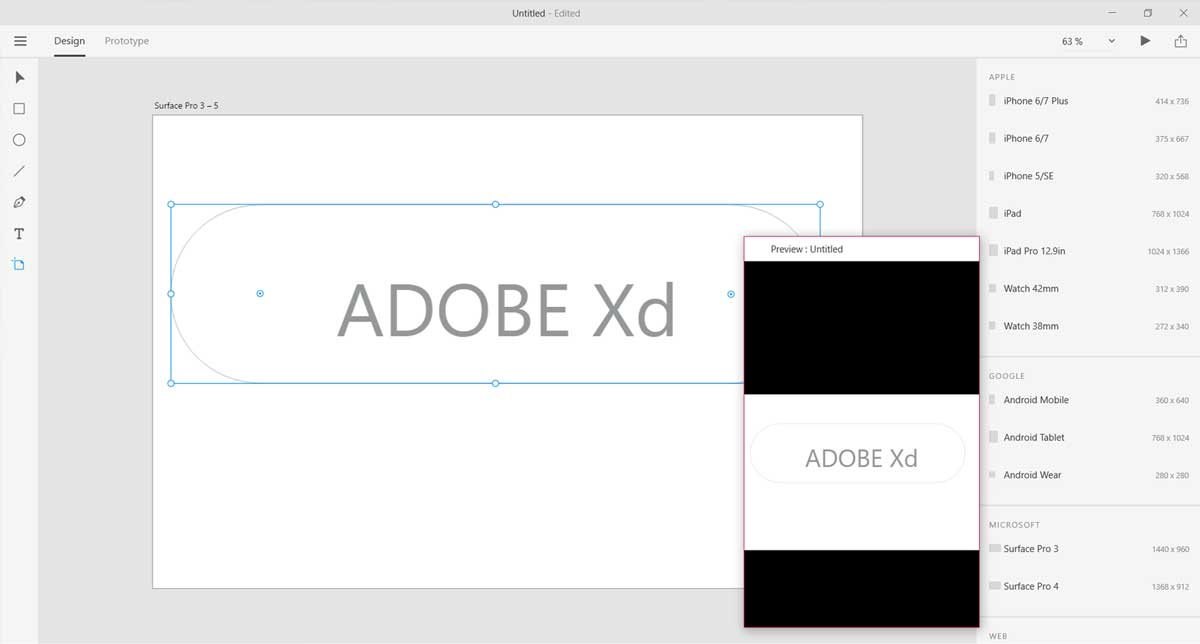 Adobe Experience Design ya está disponible para Windows 10 en beta