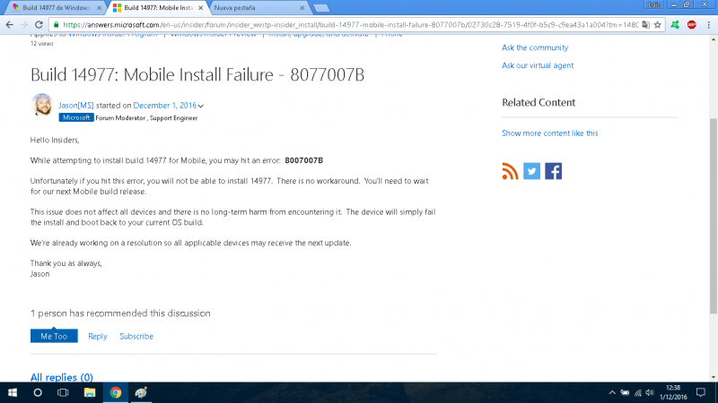 build-14977-failure