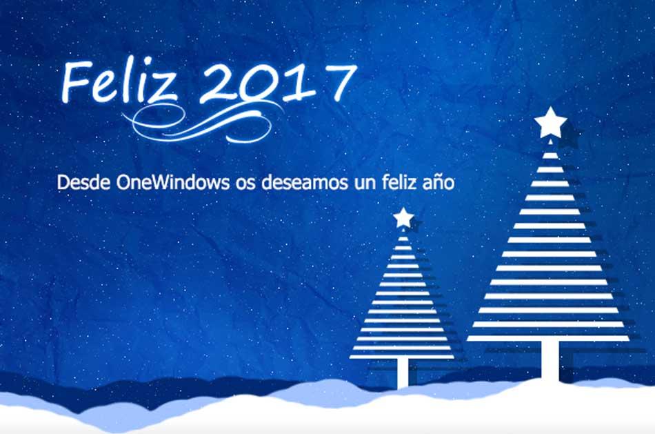 OneWindows os desea un Feliz y Próspero Año 2017